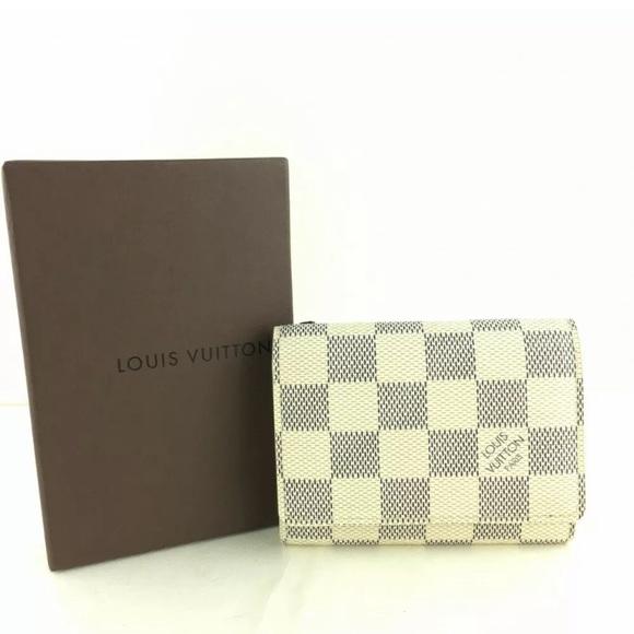 Louis Vuitton Handbags - LV Damier Azur Enveloppe Cartes De Visite